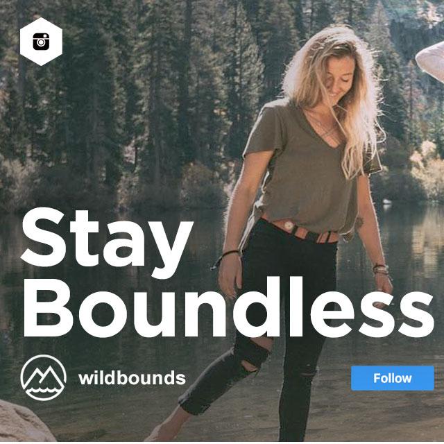 Follow us on Instagram @WildBounds