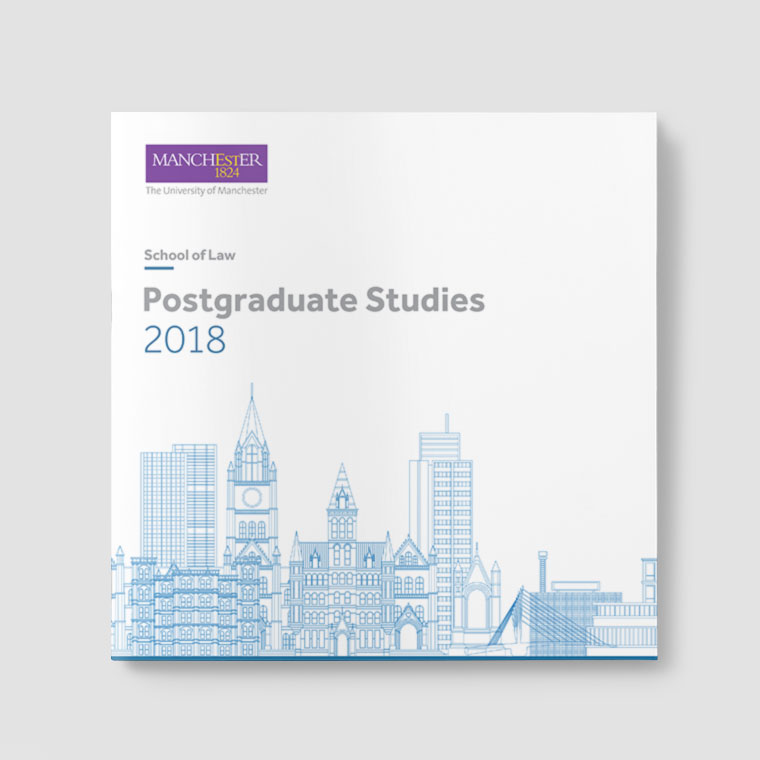 Manchester University: Postgrad Studies 2018 Brochure