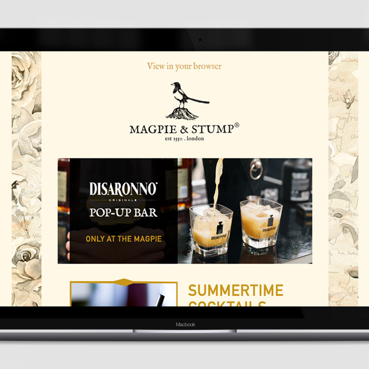 Magpie & Stump: Email Design & Development
