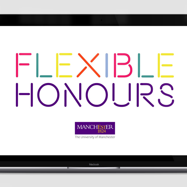 Manchester University: 'Flexible Honours' Animation