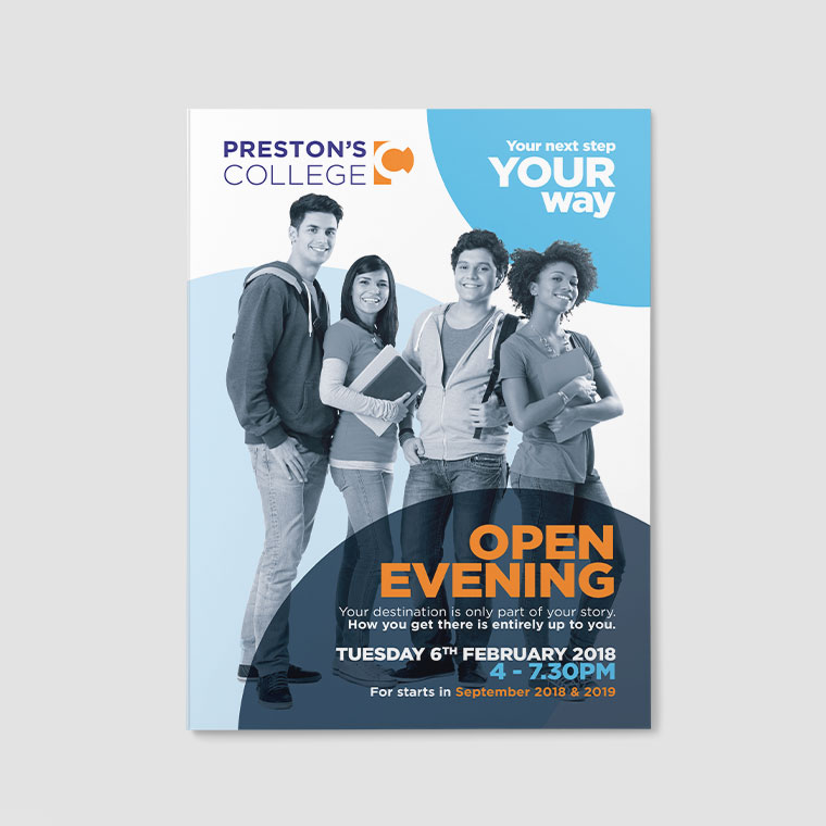 Preston's College: Open Evening Prospectus